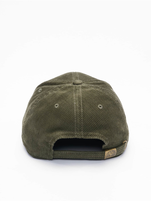 Timberland Snapback Caps Corduroy oliivi