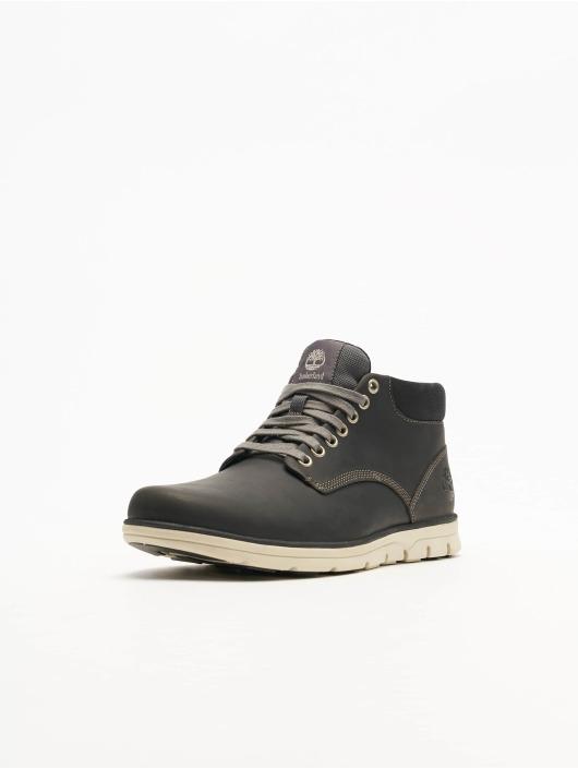 Timberland Bradstreet Chukka Leather Sneakers Pewter