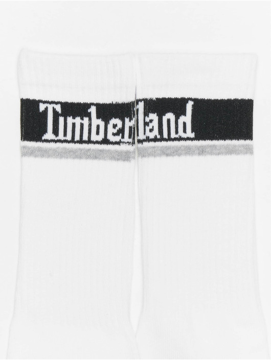 Timberland Sokken Logo Pattern 2 Pack grijs