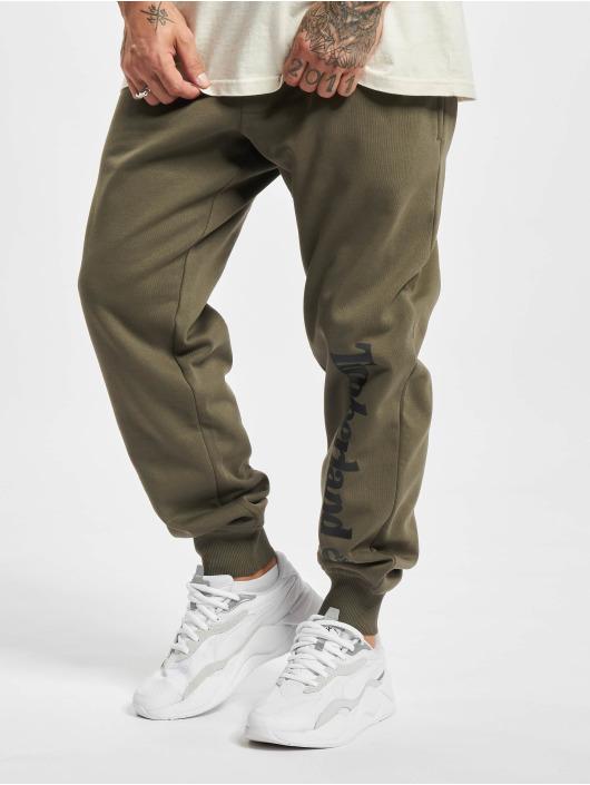 Timberland Spodnie do joggingu Core Logo oliwkowy