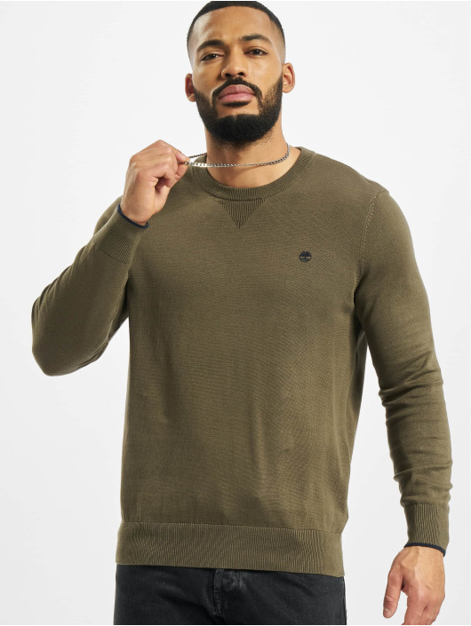 Timberland Sweat & Pull W-R 12GG Crew olive
