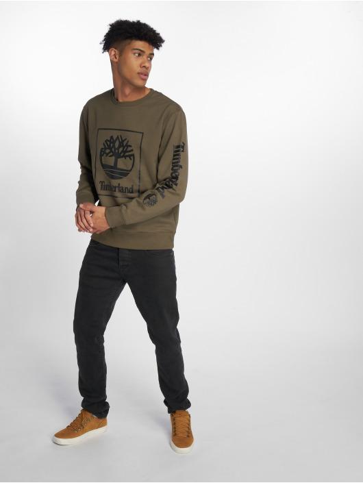 Timberland Swetry SLS Seasonal oliwkowy