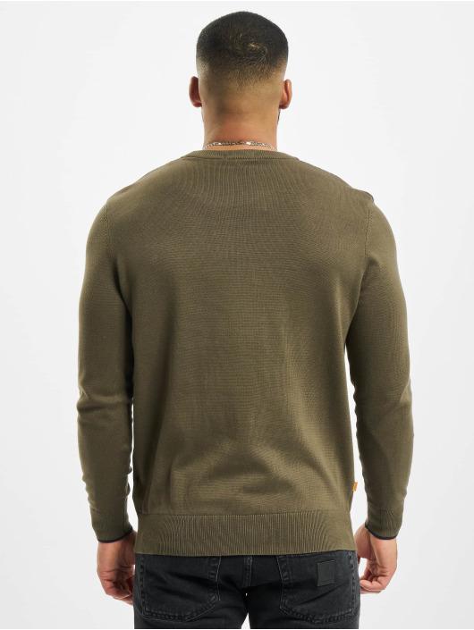 Timberland Swetry W-R 12GG Crew oliwkowy