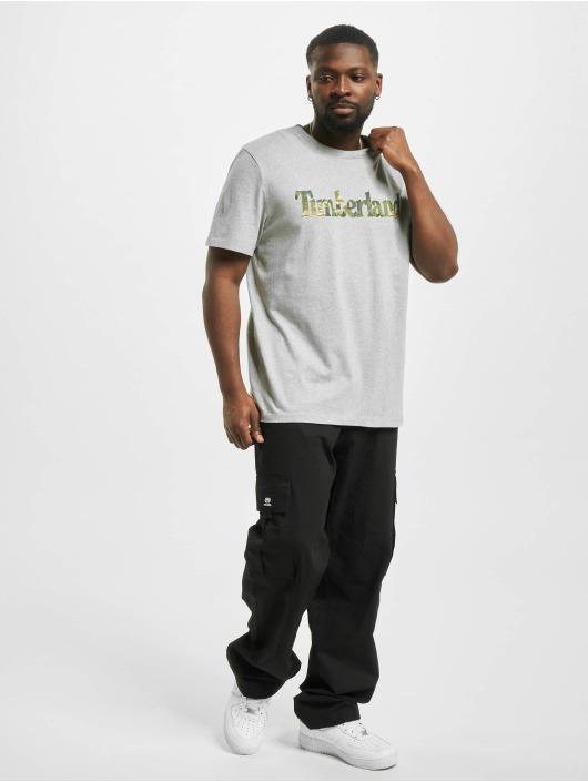 Timberland T-paidat Ft Linear harmaa