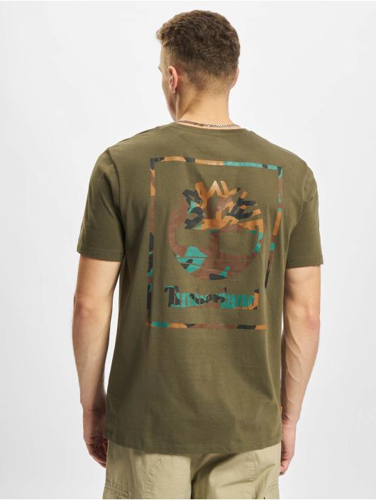 Timberland T-paidat YC oliivi