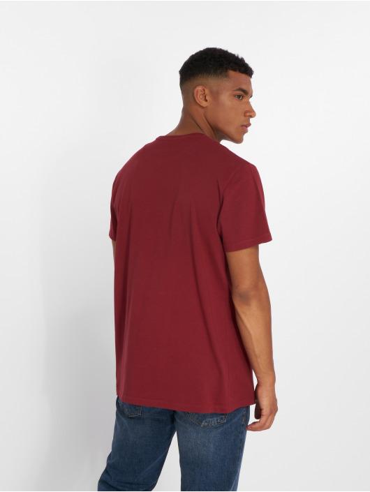 Timberland T-paidat Brand Tree Regular punainen