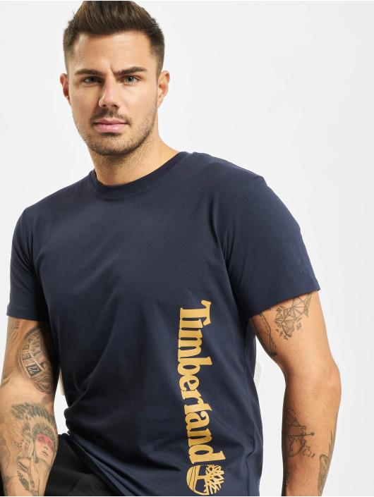 Timberland T-paidat Core Linear Logo sininen