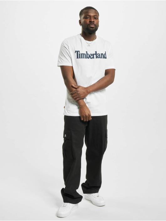 Timberland T-paidat K-R Brand Linear valkoinen