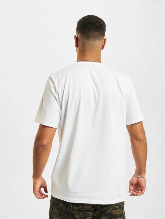 Timberland T-paidat SS Camo Linear valkoinen