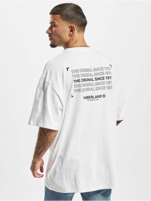 Timberland T-paidat YC Graphic valkoinen