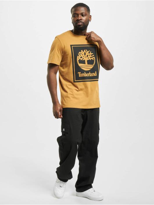 Timberland T-shirt Yc Stack Logo beige