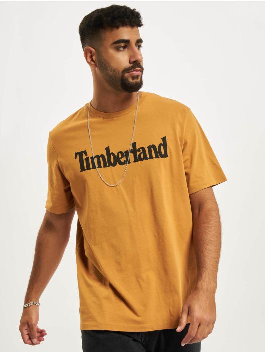 Timberland T-Shirt K-R Brand Linear beige