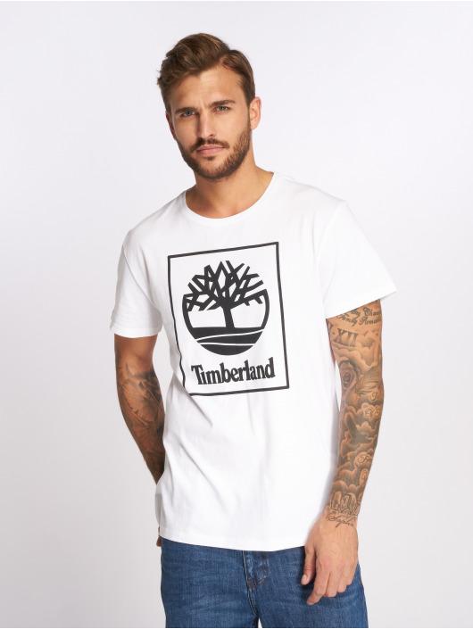 Timberland T-shirt SLS Seasonal Logo bianco