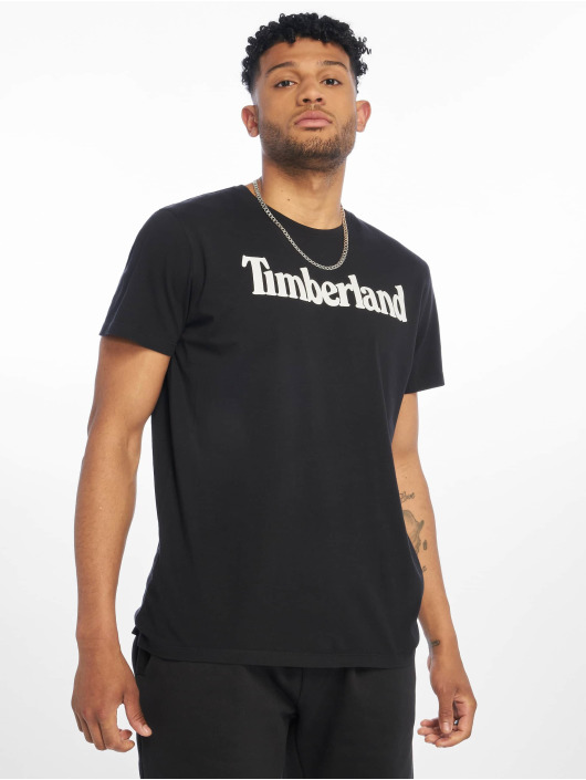 Timberland T-Shirt Brand Tree&lin Reg black