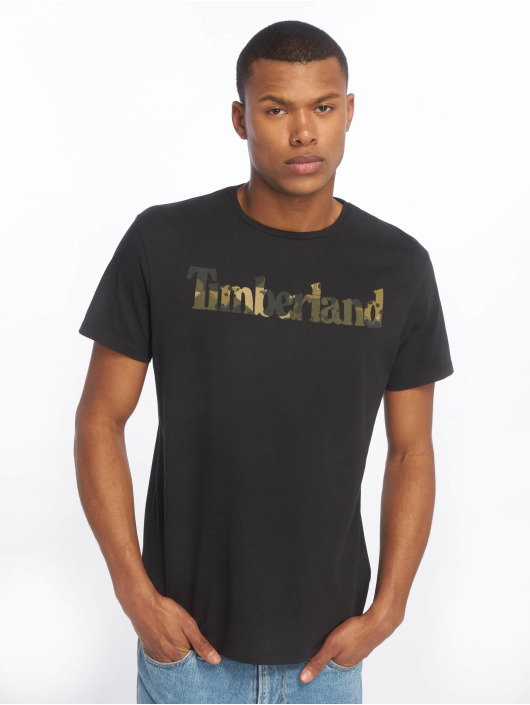 Timberland T-Shirt Kennebec River Season black