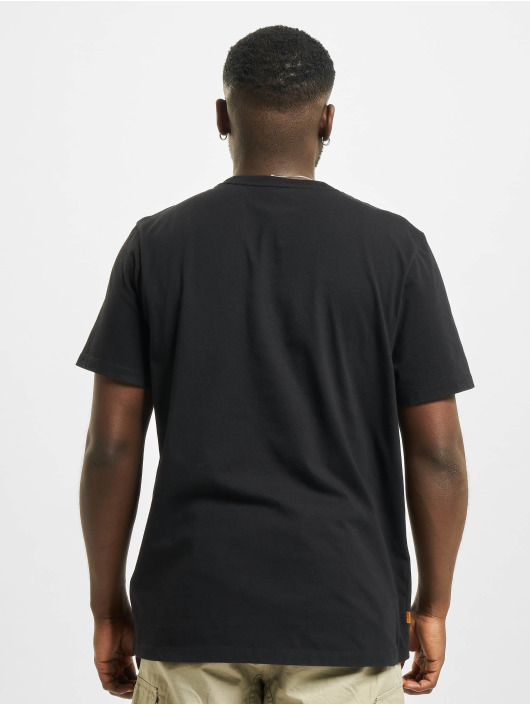 Timberland T-Shirt K-R Brand Linear black