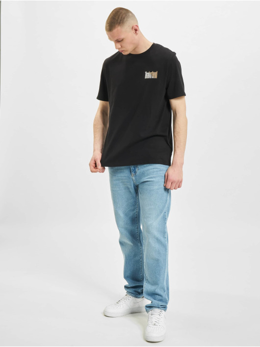 Timberland T-Shirt Stacked black