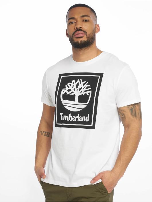Timberland T-Shirt YCC Stack Logo ECL blanc