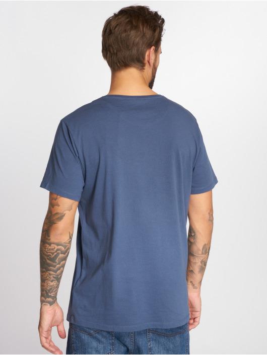 Timberland T-Shirt SSNL Pattern blue