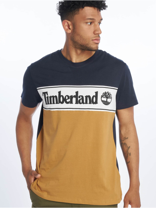Timberland T-Shirt YCC Cut & Sew blue