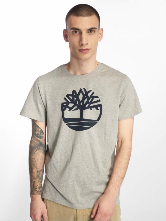 Timberland T-Shirt Kennebec River Brand Regular grau