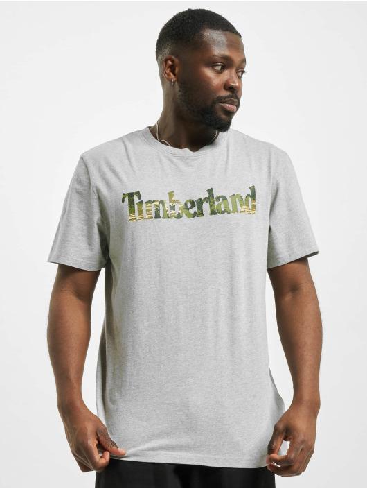 Timberland T-Shirt Ft Linear grau