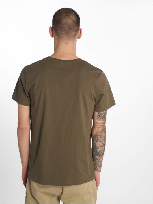 Timberland T-Shirt Brand Tree&lin Reg green