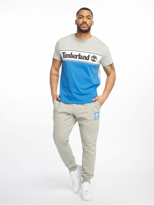 Timberland T-Shirt YCC Cut & Sew grey