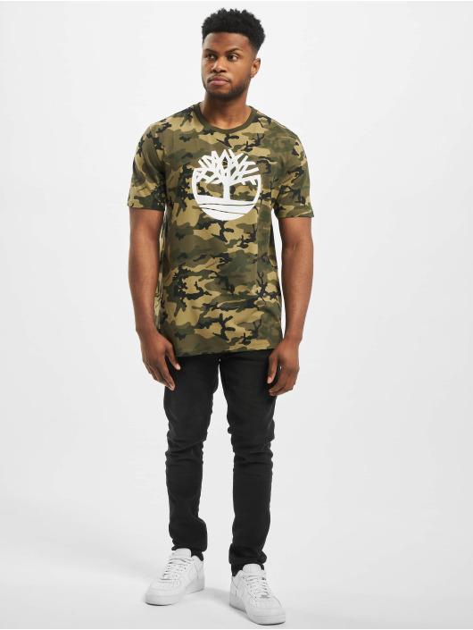 Timberland T-shirt K-R Aop Camo grigio