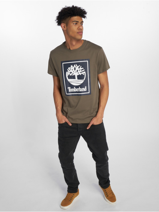 Timberland T-Shirt Ycc Logo grün