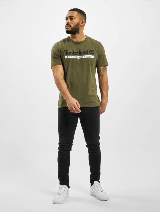 Timberland T-Shirt SS Estab 1973 grün