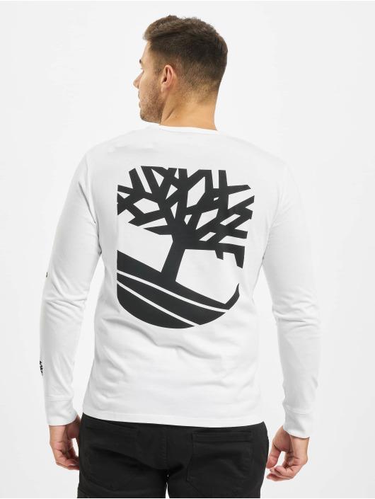Timberland T-Shirt manches longues Sls Ls Seasonal blanc