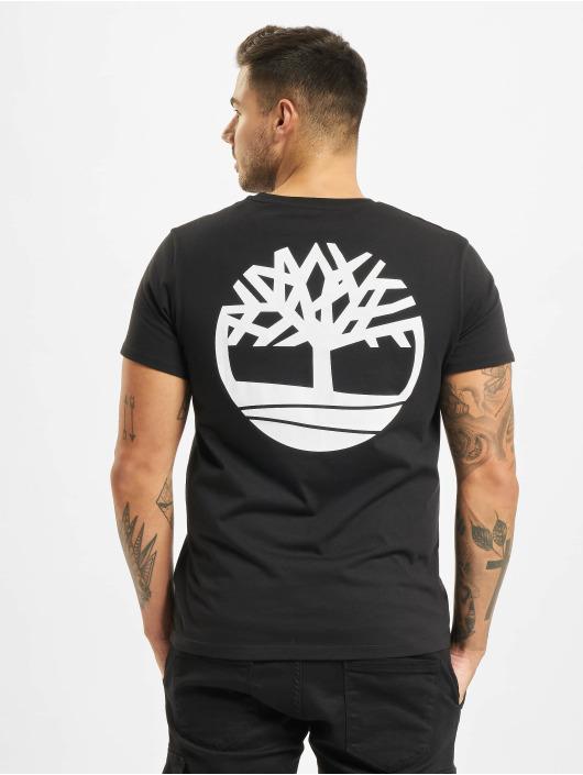 Timberland T-shirt Core Back Logo nero