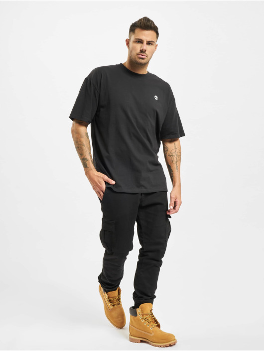 Timberland T-Shirt Ycc Ss Back Tree noir