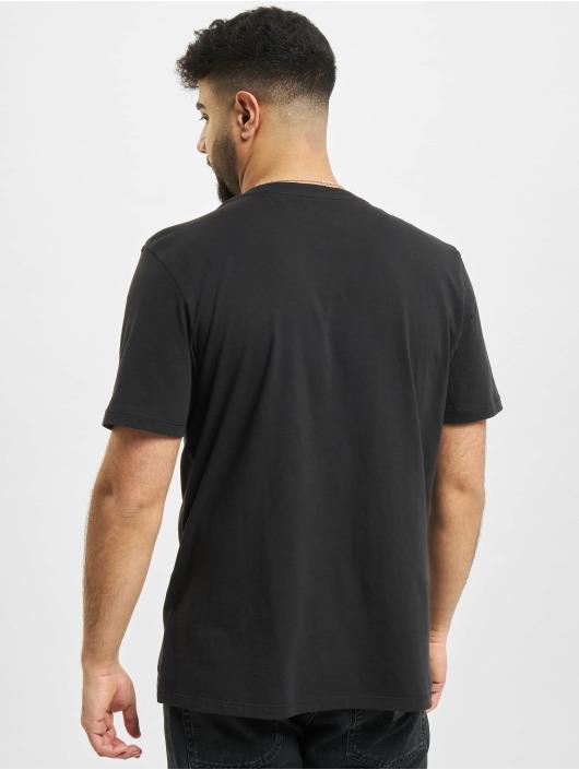 Timberland T-Shirt Yc Stack Logo noir
