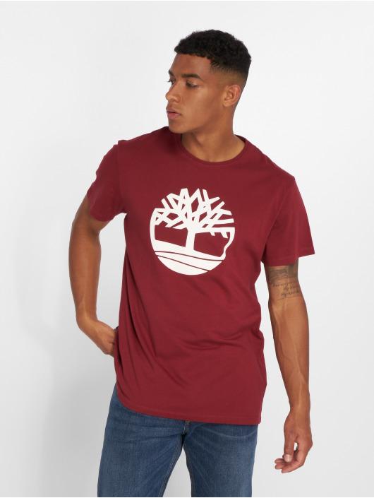 Timberland T-Shirt Brand Tree Regular red