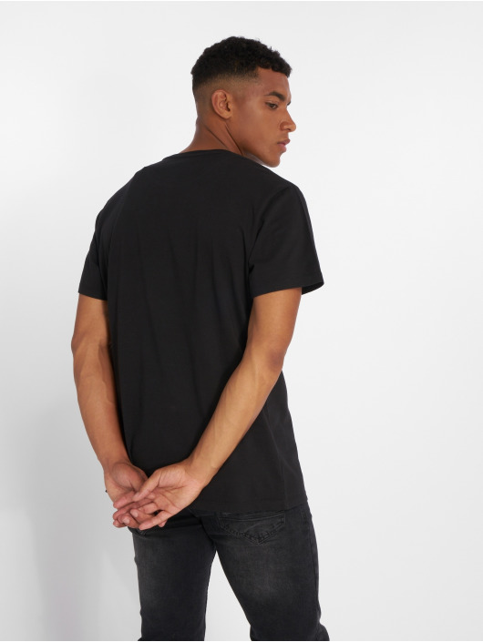 Timberland T-Shirt SSNL Pattern schwarz