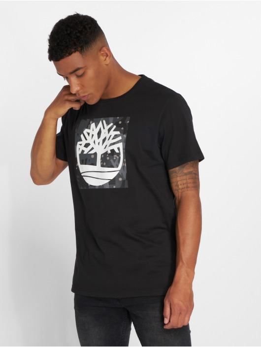 Timberland T-shirt SSNL Pattern svart