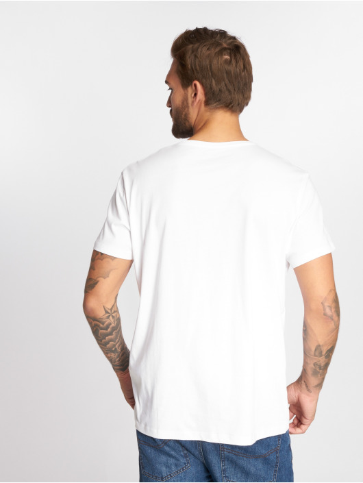 Timberland T-shirt SLS Seasonal Logo vit