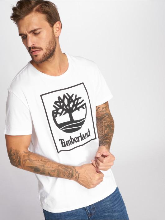Timberland T-Shirt SLS Seasonal Logo weiß