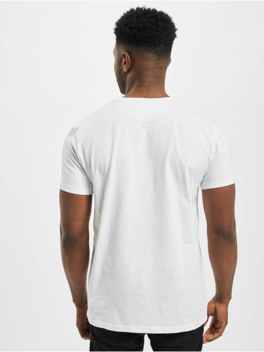 Timberland T-Shirt Dun-River Pocket weiß
