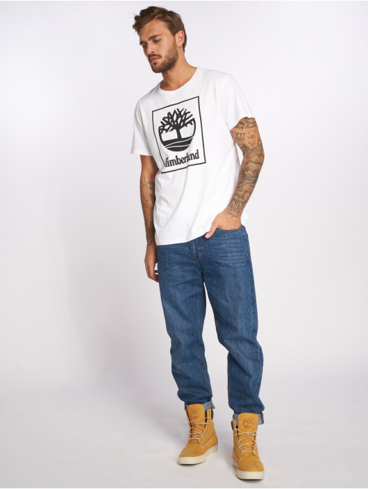 Timberland T-Shirt SLS Seasonal Logo white