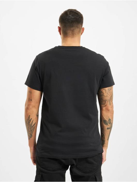 Timberland t-shirt Ss Elevated Linear zwart