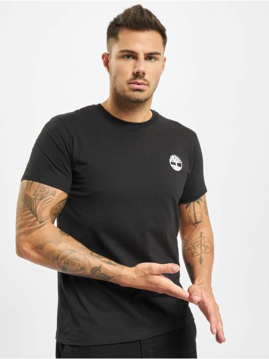 Timberland t-shirt Core Back Logo zwart