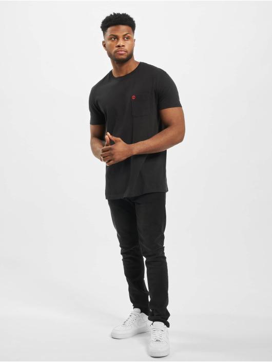 Timberland t-shirt Dun-River Pocket zwart
