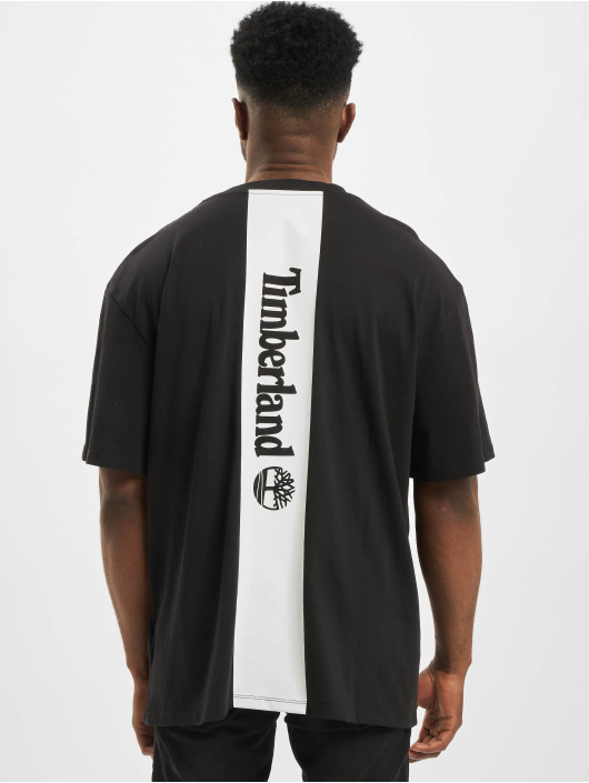 Timberland t-shirt TFO YC Logo zwart