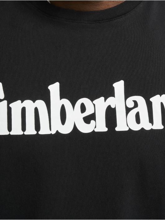 Timberland t-shirt K-R Brand Linear zwart