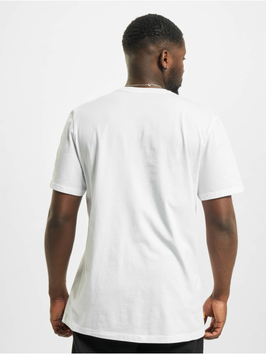 Timberland T-shirts Ft Linear hvid
