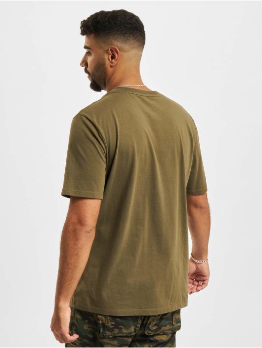 Timberland T-shirts SSCamo Tree oliven