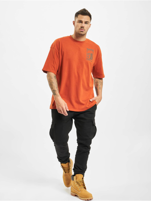 Timberland T-shirts Ss Outdoor Inspired orange